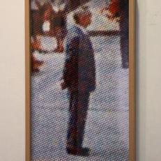 Anonymous Man, Southdale Center. Impression digitale sur papier, 60x35cm