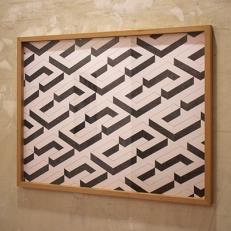 Block, El Quiñón Residential, Seseña. Crayon sur papier, 65x50cm