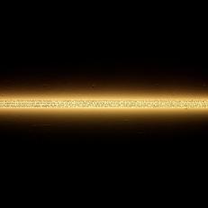 The Lightener, Guiza. Texte manuscrit sur néon, 90x5cm
