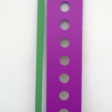 Replica 02 (bois, peinture, dimension variable)