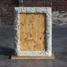 Fenêtre Bois osb, aggloméré, béton 45x35cm