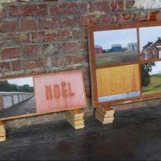 Seraing, Oupeye, Herstal, Jemeppe Photographies numériques couleur, bois Dimensions variables