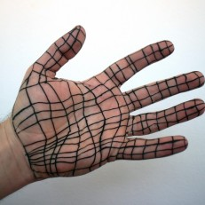 Hand (3D), color photography