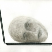 Laptop Sleeper, ink and pencil on paper, 29,7x21cm