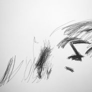 Sex scene 02, pencil on paper, 65x50cm