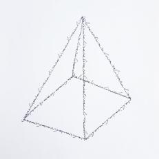 Saliva pyramid, ink on paper, 21x29,7cm