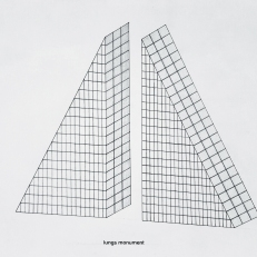 Lungs monument, pencil and lettering on paper, 21x29,7cm