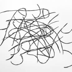 Cognitive test, ink on paper, 21x29,7cm