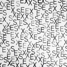 EXSEEXSXES, ink on paper, 50x40cm